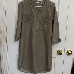 New York & Company cotton/ lyocell dress